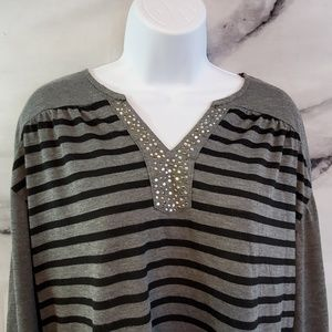 French Laundry 3/4 Sleeve Top